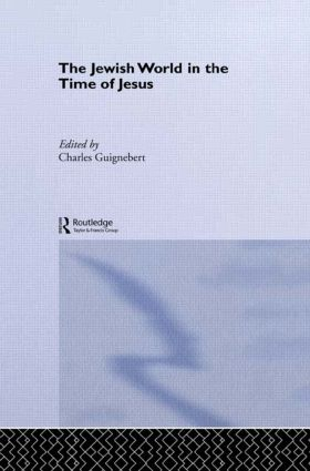 The Jewish World in the Time of Jesus (Hardback) book cover