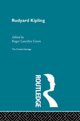 Rudyard Kipling (Paperback) book cover