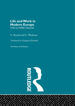Life and Work in Modern Europe (Paperback) book cover