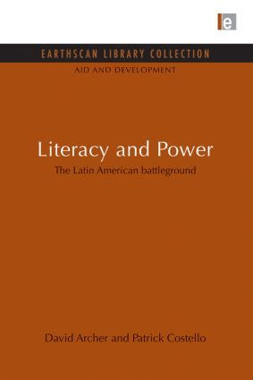 Literacy and Power: The Latin American battleground (Paperback) book cover