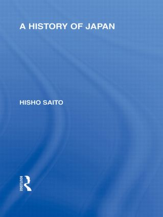 A History of Japan (Paperback) book cover