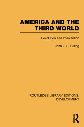 America and the Third World: Revolution and Intervention (Hardback) book cover