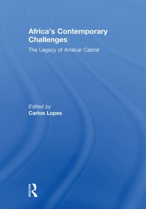 Africa's Contemporary Challenges: The Legacy of Amilcar Cabral (Paperback) book cover