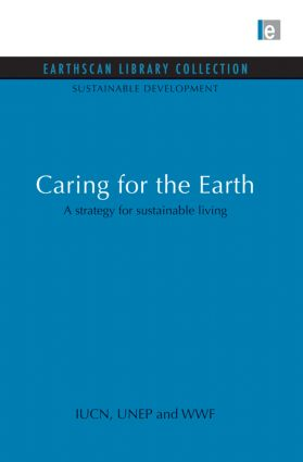 Caring for the Earth: A strategy for sustainable living book cover