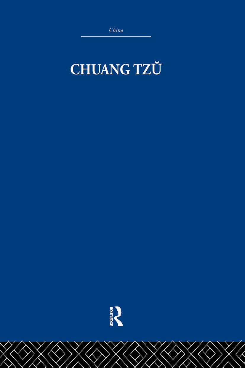 Chuang Tzu: 1st Edition (Paperback) book cover