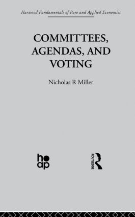 Committees, Agendas and Voting: 1st Edition (Paperback) book cover