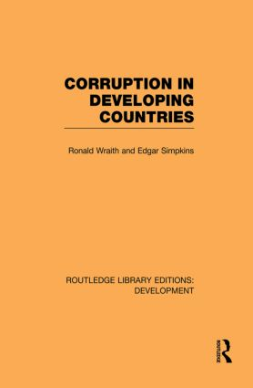 Corruption in Developing Countries (Paperback) book cover