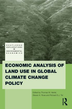 Economic Analysis of Land Use in Global Climate Change Policy (Paperback) book cover