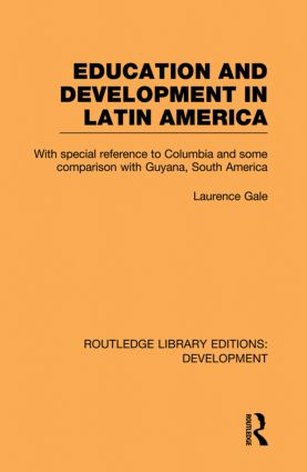 Education and development in Latin America (Paperback) book cover
