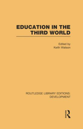 Education in the Third World book cover