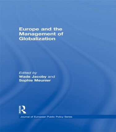 Europe and the Management of Globalization (Paperback) book cover