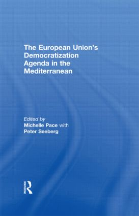 The European Union's Democratization Agenda in the Mediterranean: 1st Edition (Paperback) book cover