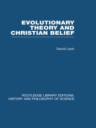 Evolutionary Theory and Christian Belief: The Unresolved Conflict book cover