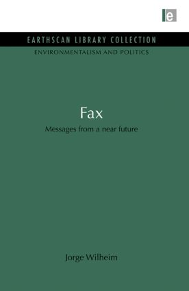 Fax: Messages from a near future, 1st Edition (Paperback) book cover