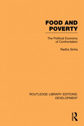 Food and Poverty: The Political Economy of Confrontation book cover