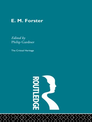 E.M. Forster (Paperback) book cover