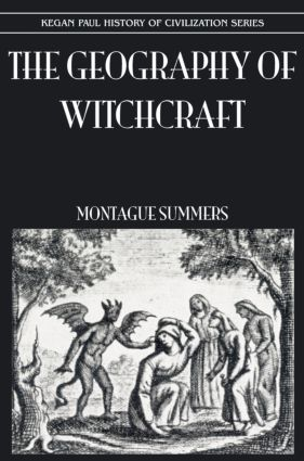 Geography Of Witchcraft: 1st Edition (Paperback) book cover