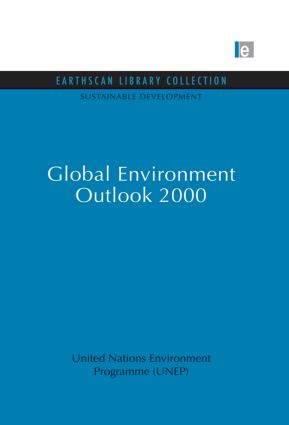 Global Environment Outlook 2000 book cover