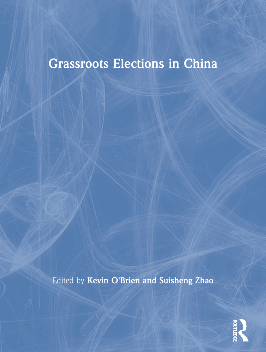 Grassroots Elections in China: 1st Edition (Paperback) book cover