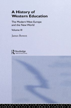 Hist West Educ:Modern West V3: 1st Edition (Paperback) book cover