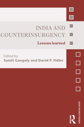India and Counterinsurgency: Lessons Learned, 1st Edition (Paperback) book cover