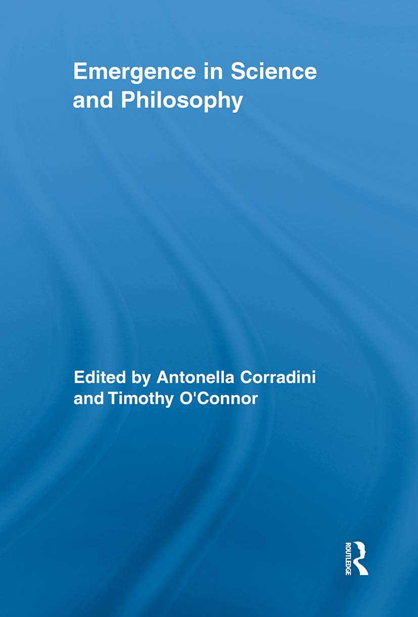 Emergence in Science and Philosophy (Paperback) book cover