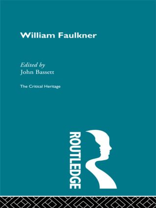 William Faulkner (Paperback) book cover