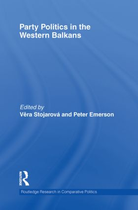 Party Politics in the Western Balkans (Paperback) book cover