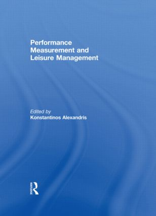 Performance Measurement and Leisure Management (Paperback) book cover