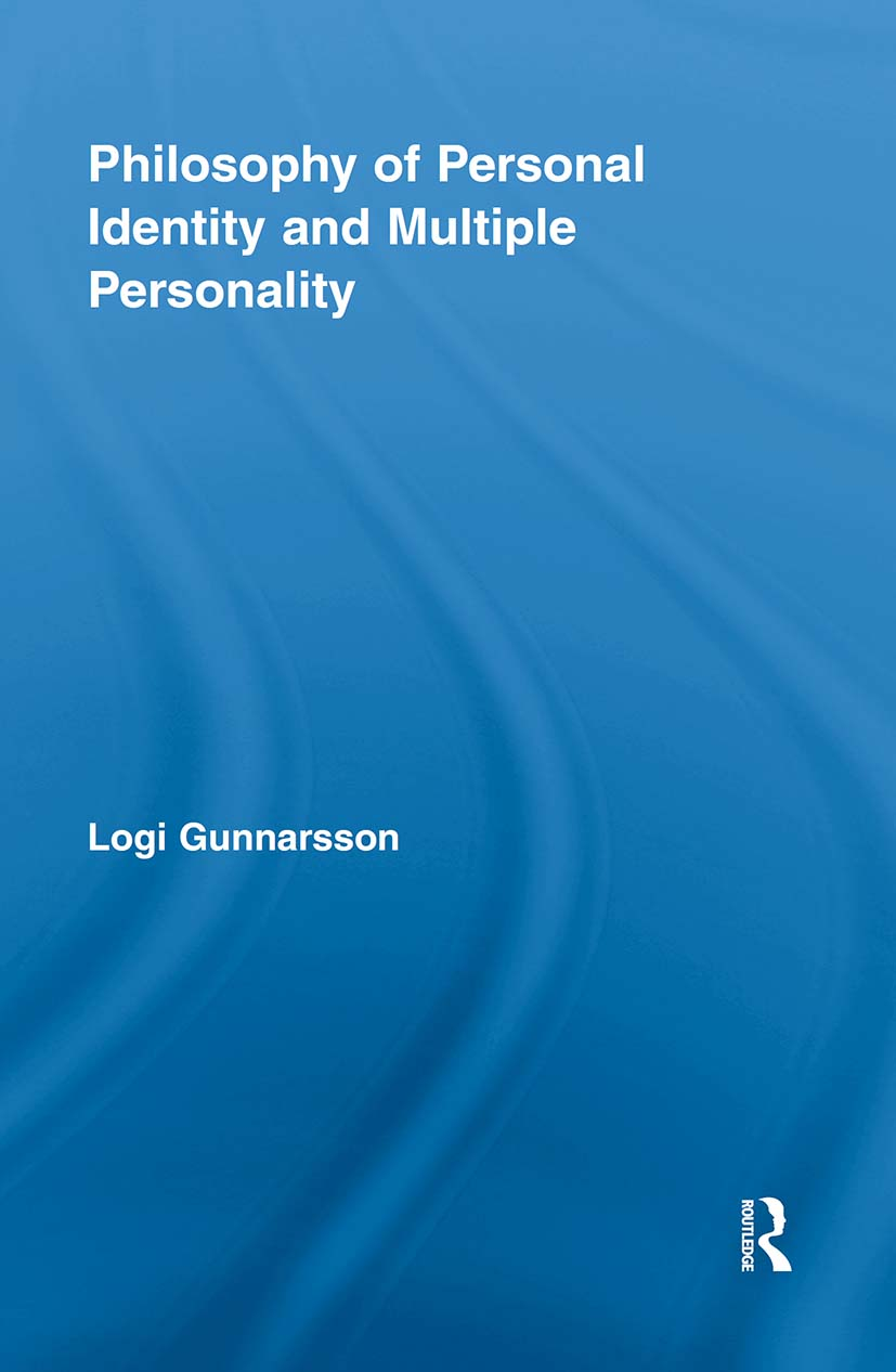 Philosophy of Personal Identity and Multiple Personality (Paperback) book cover