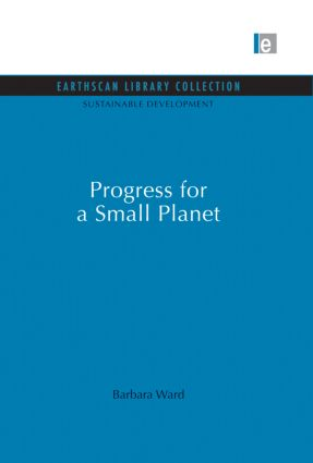Progress for a Small Planet: 1st Edition (Paperback) book cover