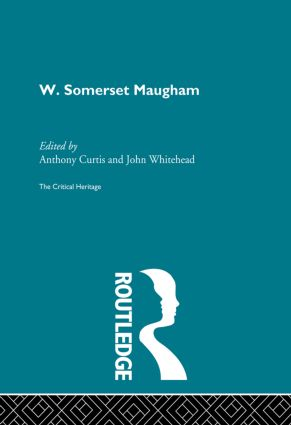 W. Somerset Maugham (Paperback) book cover