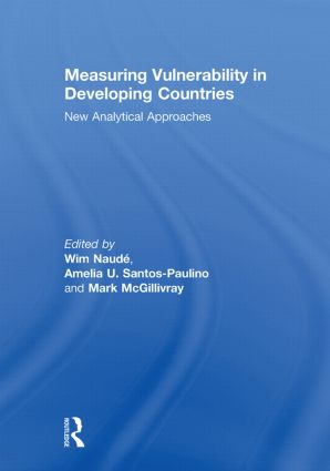 Measuring Vulnerability in Developing Countries: New Analytical Approaches (Paperback) book cover