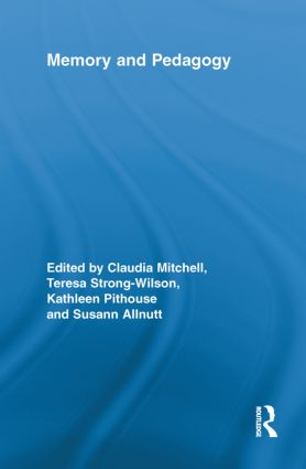 Memory and Pedagogy: 1st Edition (Paperback) book cover