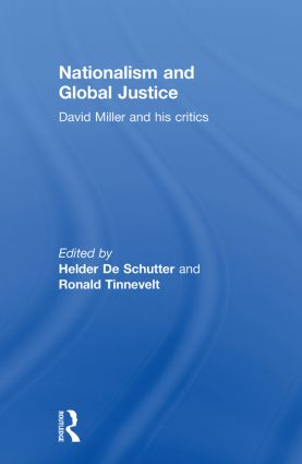 Nationalism and Global Justice: David Miller and His Critics, 1st Edition (Paperback) book cover