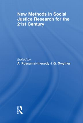 New Methods in Social Justice Research for the Twenty-First Century (Paperback) book cover
