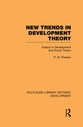 New Trends in Development Theory: Essays in Development and Social Theory book cover
