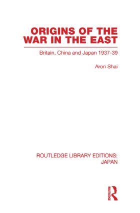 Origins of the War in the East: 1st Edition (Paperback) book cover