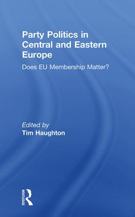 Party Politics in Central and Eastern Europe: Does EU Membership Matter? book cover