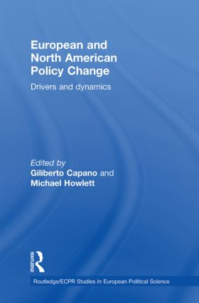 European and North American Policy Change: Drivers and Dynamics book cover