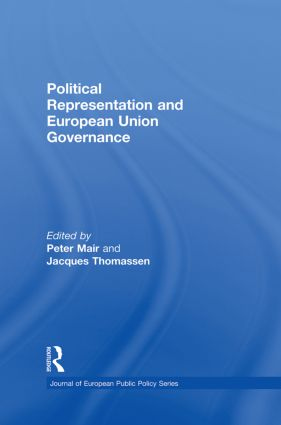 Political Representation and European Union Governance (Paperback) book cover