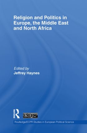 Religion and Politics in Europe, the Middle East and North Africa (Paperback) book cover