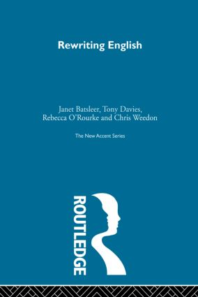 Rewriting English: 1st Edition (Paperback) book cover