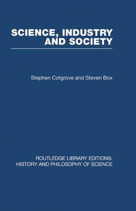 Science Industry and Society: Studies in the Sociology of Science (Paperback) book cover