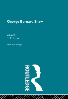 George Bernard Shaw (e-Book) book cover