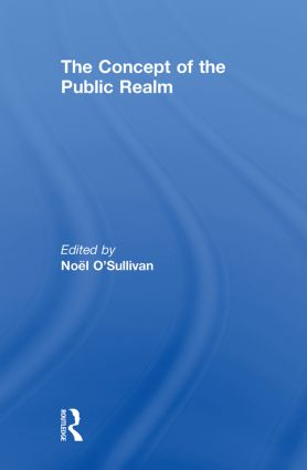 The Concept of the Public Realm: 1st Edition (Paperback) book cover
