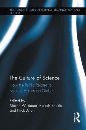 The Culture of Science: How the Public Relates to Science Across the Globe (Paperback) book cover