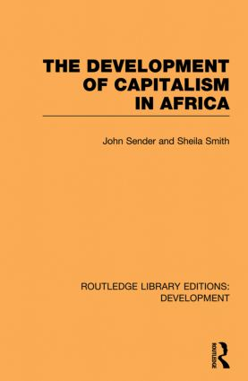 The Development of Capitalism in Africa (Paperback) book cover