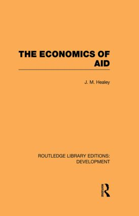 The Economics of Aid (Paperback) book cover