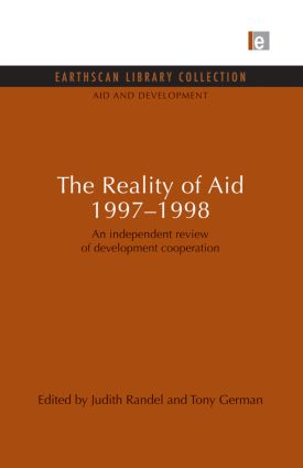 The Reality of Aid 1997-1998: An independent review of development cooperation (Paperback) book cover
